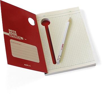 notebook&pencil